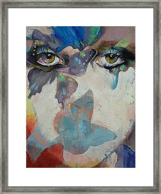 Gothic Butterflies Framed Print by Michael Creese