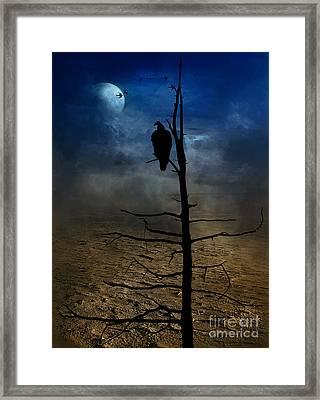 Gothic Landscape  Framed Print by Andrea Kollo