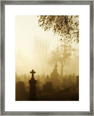 Gothic Morning Framed Print by Gothicolors Donna Snyder
