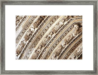 Gothic Splendor Framed Print by Ivy Ho