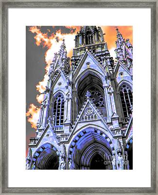Gothic Wonder Framed Print by GabeZ Art