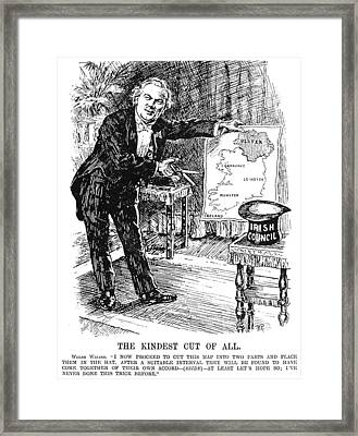Government Of Ireland Act Framed Print by Granger