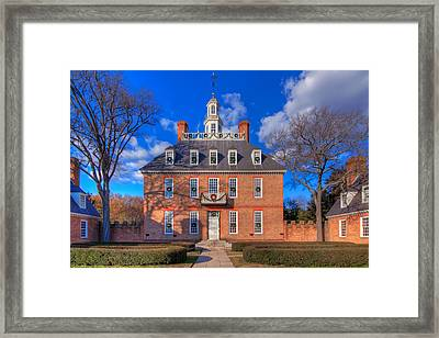 Governors Palace Framed Print by Tim Wilson