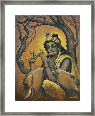 Govinda Framed Print by Vrindavan Das