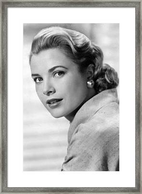 Grace Kelly In Her Prime Framed Print by Retro Images Archive