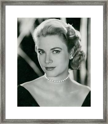 Grace Kelly Framed Print by Retro Images Archive