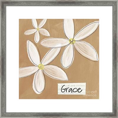 Grace Framed Print by Linda Woods