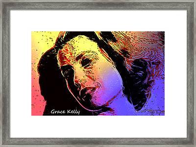 Grace Framed Print by Steve K