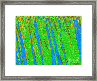 Grace-visual Music Framed Print by David Winson