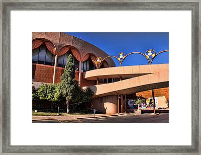 Grady Gammage Auditorium Framed Print by Chuck Seller