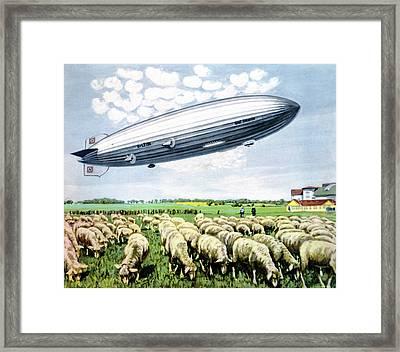 Graf Zeppelin II Framed Print by Cci Archives