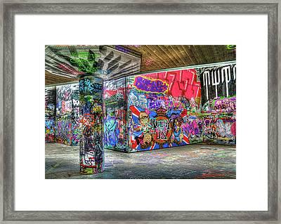 Graffiti 01 Framed Print by Svetlana Sewell