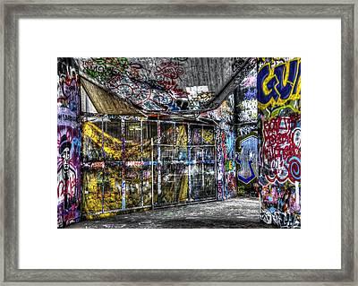 Graffiti 02 Framed Print by Svetlana Sewell