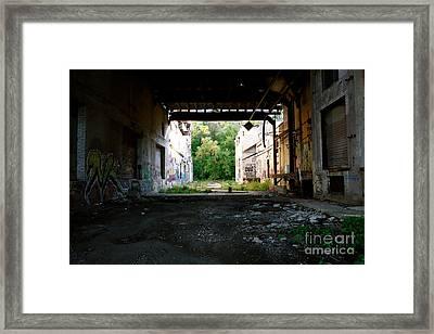 Graffiti Alley 1 Framed Print by Jacqueline Athmann