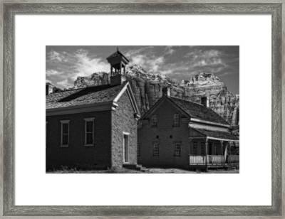 Grafton Ghost Town Utah Framed Print by Utah Images