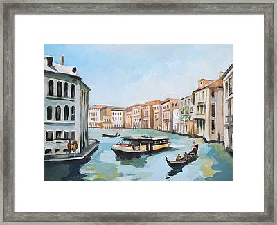 Grand Canal 2 Framed Print by Filip Mihail