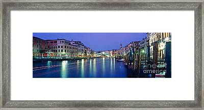 Grand Canal Framed Print by Rod McLean