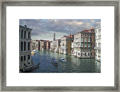 Grand Canal Framed Print by Harold Shull
