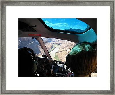 Grand Canyon - 121256 Framed Print by DC Photographer