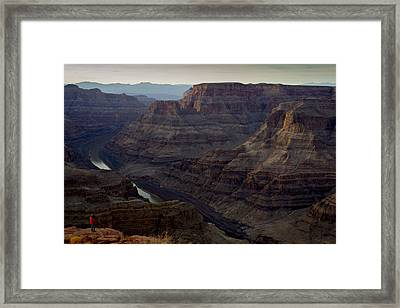 Grand Canyon And Colorado River Framed Print by Andrew Pacheco