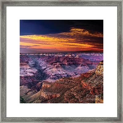 Grand Canyon  Arizona Framed Print by Ludmila Nayvelt