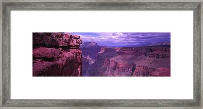 Grand Canyon, Arizona, Usa Framed Print by Panoramic Images