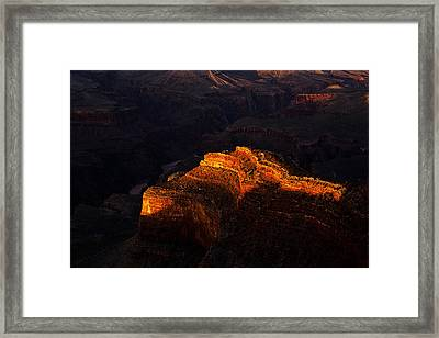 Grand Canyon Evening Framed Print by Andrew Soundarajan