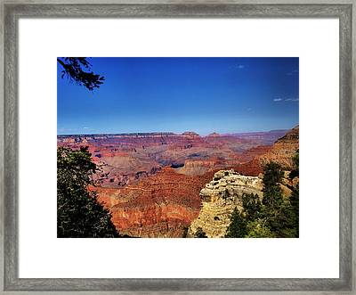 Grand Canyon National Park View Framed Print by Dan Sproul
