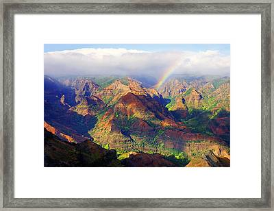 Grand Canyon Of The Pacific Framed Print by Kevin Smith