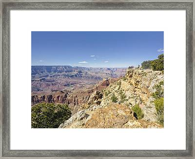 Grand Canyon Pipe Creek Vista Framed Print by Marianne Campolongo