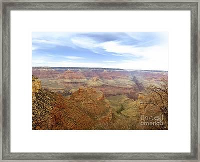 Grand Canyon  Framed Print by Scott Pellegrin