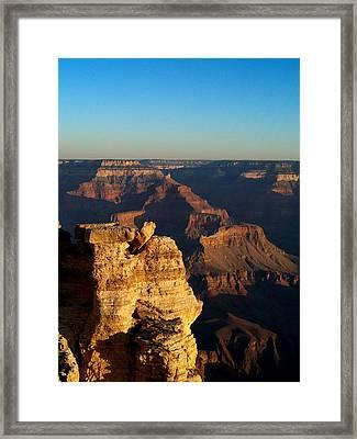 Grand Canyon Sunrise Two Framed Print by Joshua House