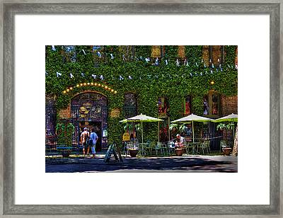 Grand Central Arcade - Seattle Framed Print by David Patterson