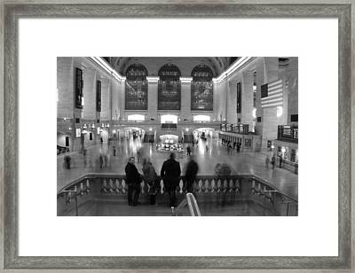 Grand Central Station Framed Print by Dan Sproul
