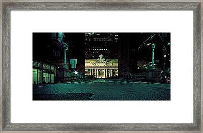 Grand Central Terminal - New York City Framed Print by Thomas Richter