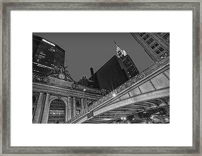 Grand Central Terminal Gct Nyc Framed Print by Susan Candelario