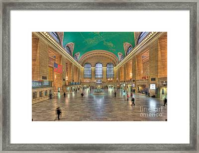 Grand Central Terminal IIi Framed Print by Clarence Holmes