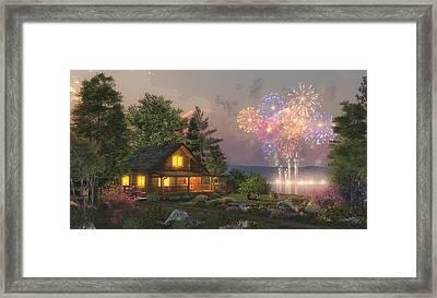 Grand Finale Framed Print by Randy Earles