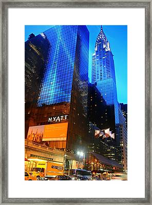 Grand Hyatt Framed Print by Diana Angstadt