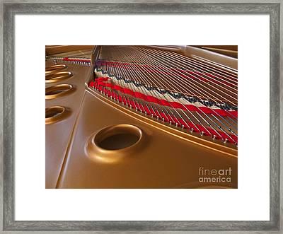 Grand Piano Framed Print by Ann Horn