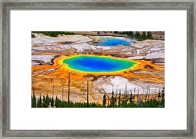 Grand Prismatic Spring Limited Edition Framed Print by Greg Norrell