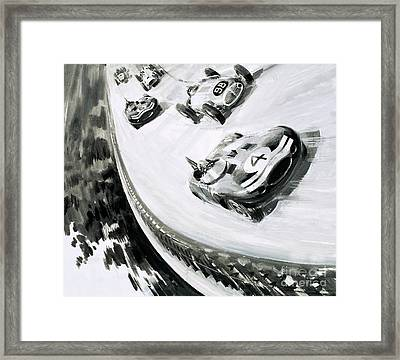 Grand Prix Framed Print by English School