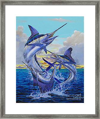 Grand Slam Off0016 Framed Print by Carey Chen