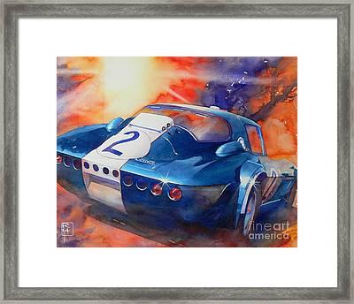 Grand Sport Framed Print by Robert Hooper