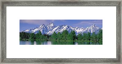 Grand Tetons National Park Wy Framed Print by Panoramic Images