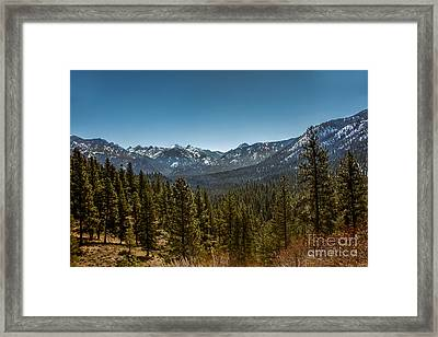 Grandjean Valley View Framed Print by Robert Bales