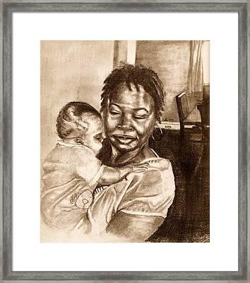 Grandma Framed Print by Dallas Roquemore