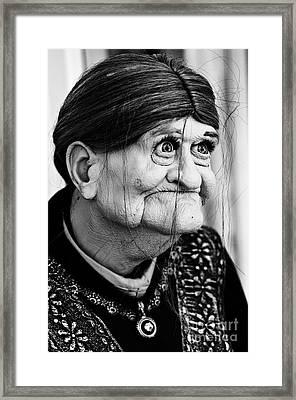 Grandma Framed Print by Steve Purnell