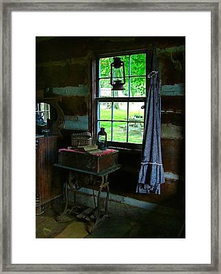 Grandma's Things Framed Print by Julie Dant