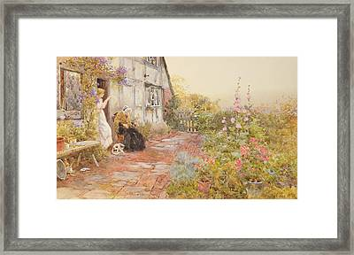 Grandmother Framed Print by Thomas James Lloyd